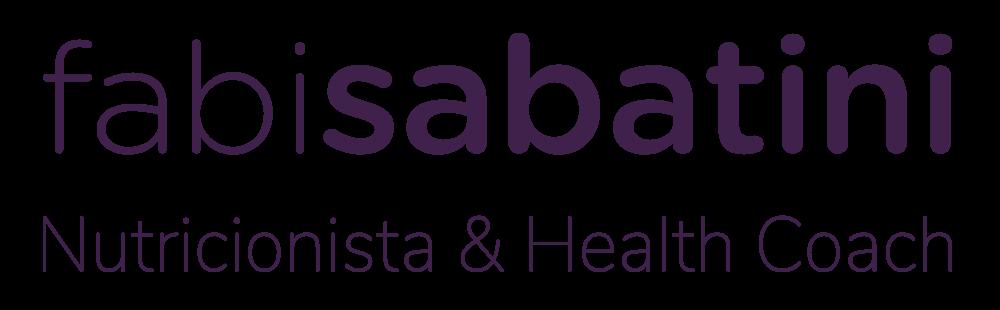 Fabi Sabatini Nutricionista & Health Coach