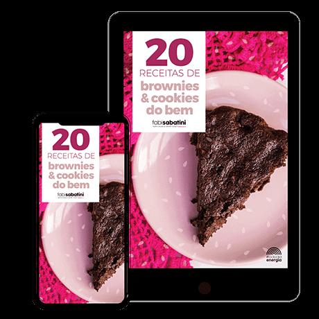 20 Receitas de Brownies e Cookies do Bem!